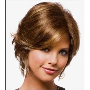 Cappuccino Hair Color Wigs 5