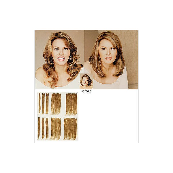 Raquel Welch Human Hair Extensions Triple Weft Hair Extensions