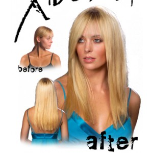 "EasiXtend Elite 20"" human hair extensions by JR"